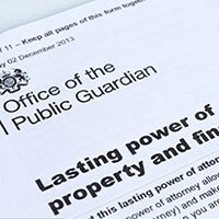 Why make a Lasting Power of Attorney?